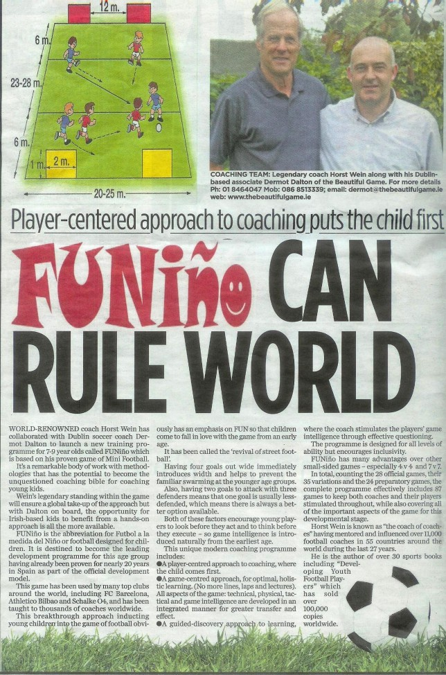 FUNINO can rule the world HERALD 24 APR 2012 (1)