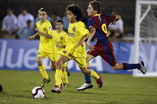 barcelona y celta infantil